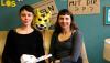 Miriam Wendschoff  und Katharina Laage vom Büro für  Eskapismus