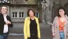 … mit Barbara Kantel, Rabea Schubert und Saham El-Gaban